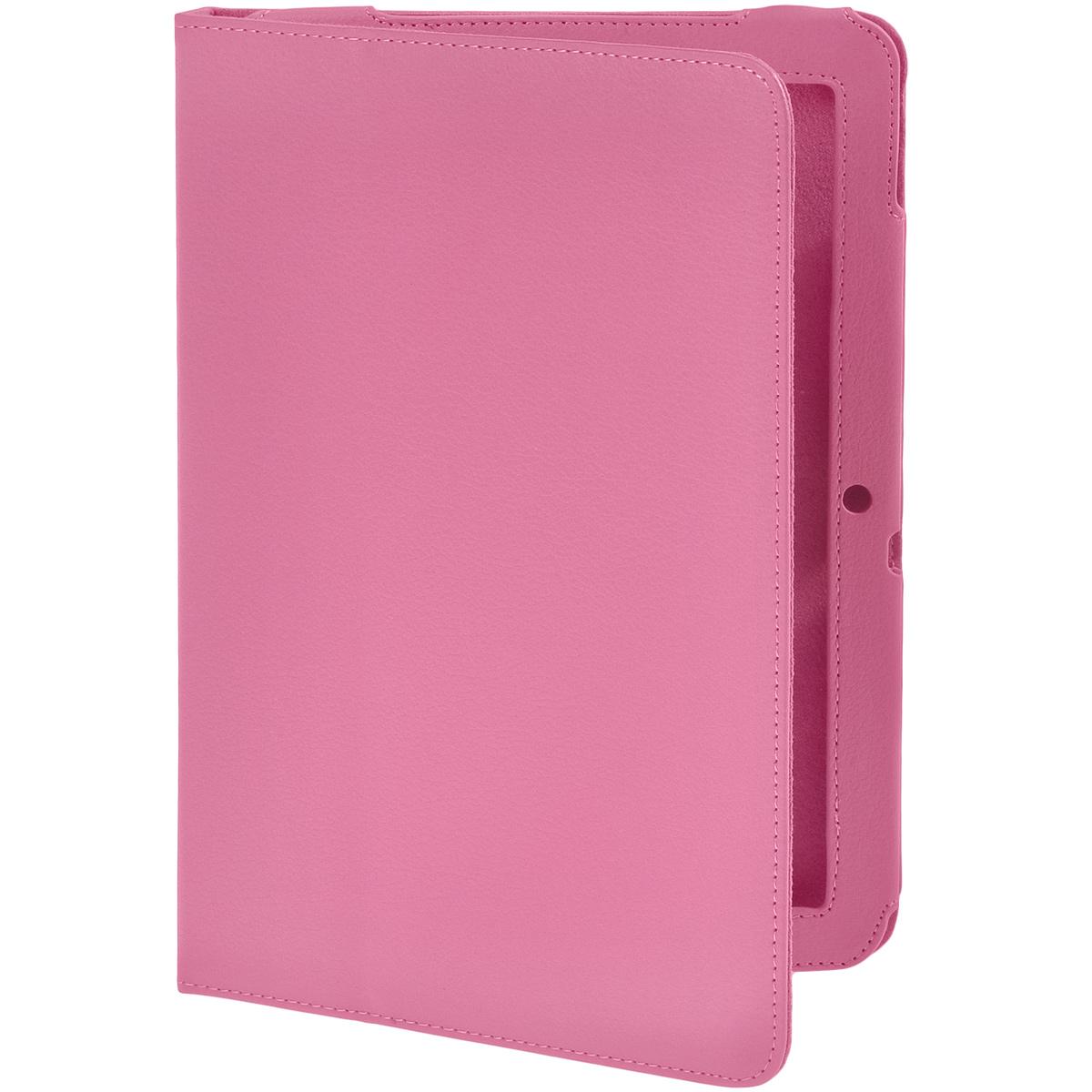 IT Baggage чехол для Acer Iconia Tab A3, PinkITACA32-3Чехол IT Baggage для Acer Iconia Tab A3 - это стильный и лаконичный аксессуар, позволяющий сохранить планшет в идеальном состоянии. Надежно удерживая технику, обложка защищает корпус и дисплей от появления царапин, налипания пыли. Также чехол IT Baggage для Acer Iconia Tab A3 можно использовать как подставку для чтения или просмотра фильмов. Имеет свободный доступ ко всем разъемам устройства.