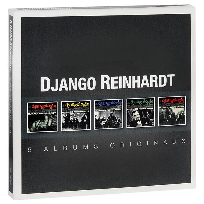 Джанго Рейнхардт Django Reinhardt. Original Album Series (5 CD) cd диск foreigner original album series 5 cd
