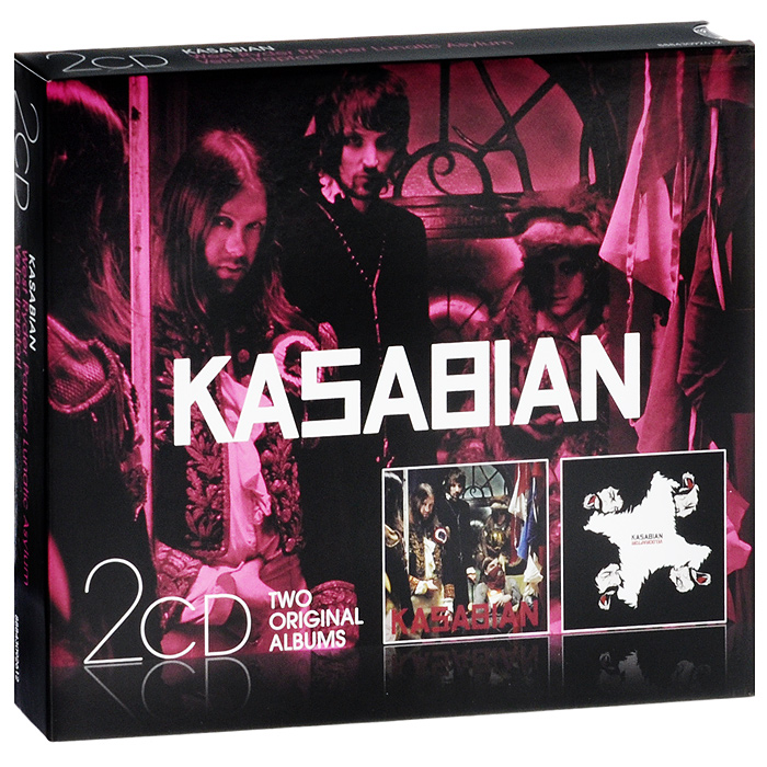 Kasabian,Розарио Доусон Kasabian: West Rider Pauper Lunatic Asylum / Velociraptor! (2 CD) cd kasabian 48 13