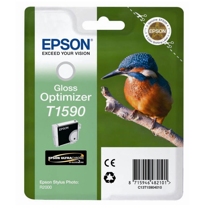 Epson T1590 Gloss Optimizer (C13T15904010) оптимизатор глянца для R2000 картридж epson t1590 оптимизатор глянца [c13t15904010]