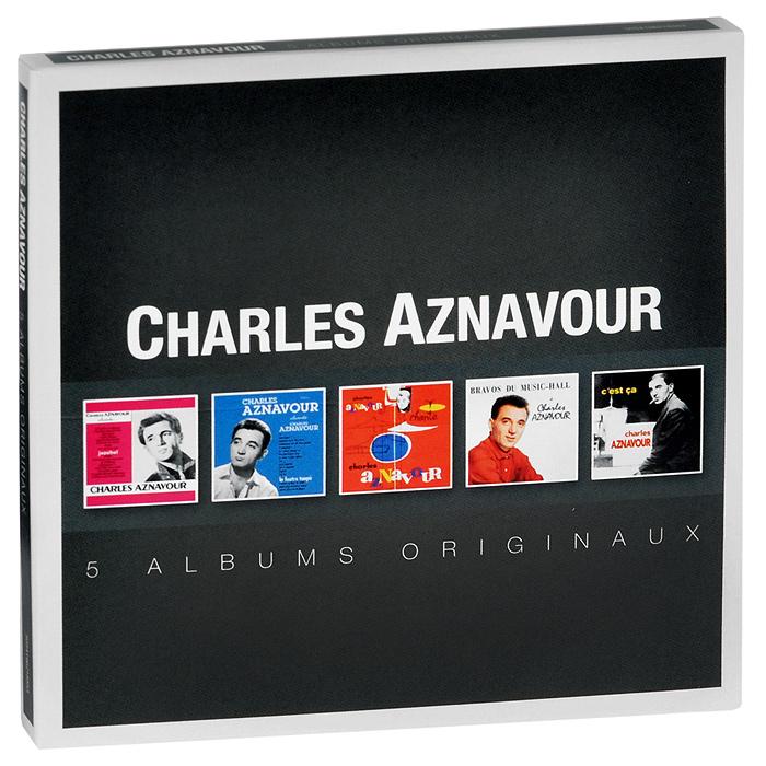 Шарль Азнавур Charles Aznavour. Albums Originaux (5 CD) charles aznavour tours
