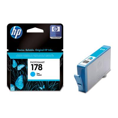 HP CB318HE (178), cyanCB318HEКартридж HP 178 для струйных принтеров HP Photosmart.