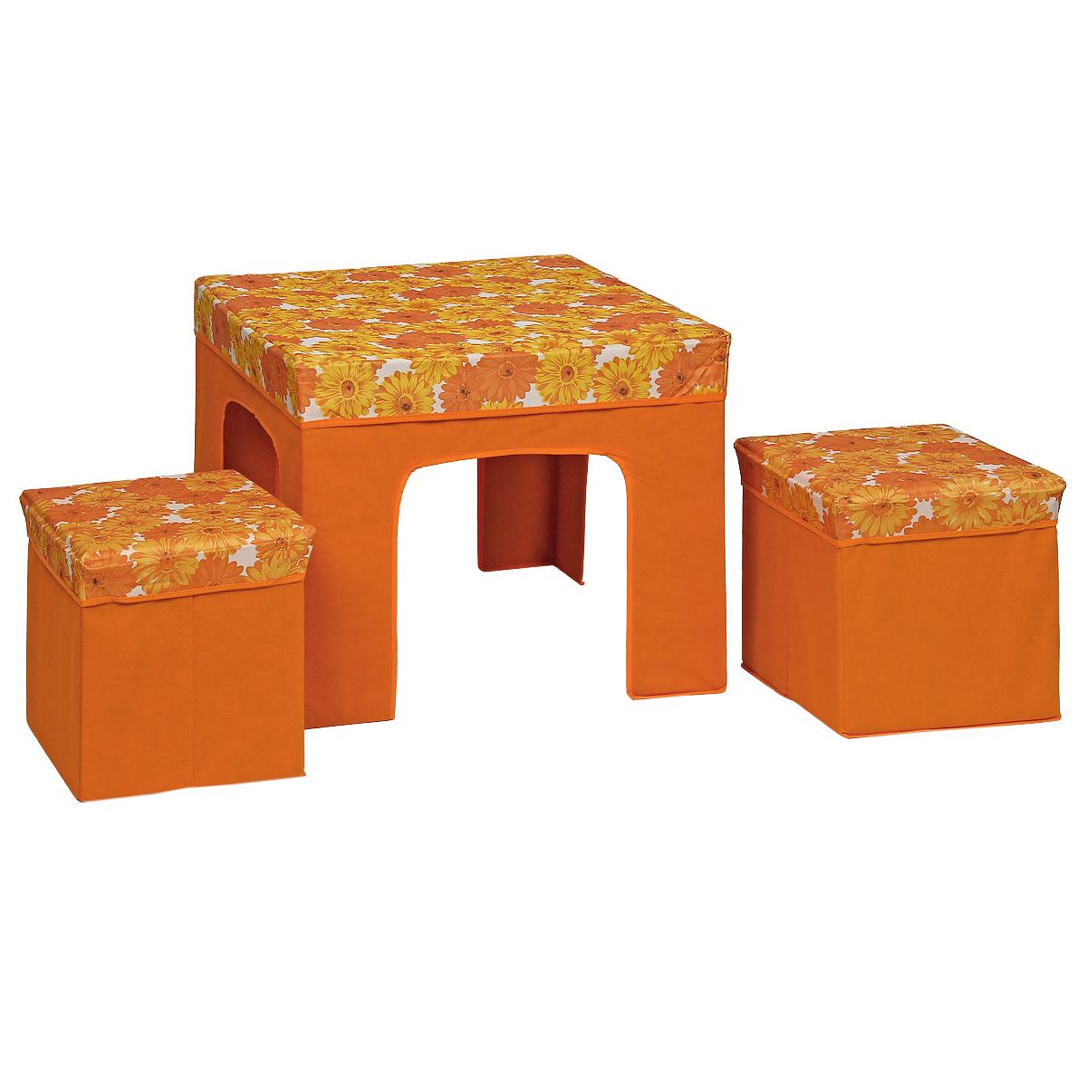 Набор складной мебели Orange, 3 предмета набор складной мебели wildman 3 предмета