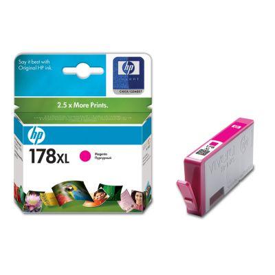 HP CB324HE (178 XL) Photo, magentaCB324HEКартридж повышенной емкости HP 178 XL для струйных принтеров HP Photosmart.Уважаемые клиенты! Обращаем ваше внимание на то, что упаковка может иметь несколько видов дизайна. Поставка осуществляется в зависимости от наличия на складе.