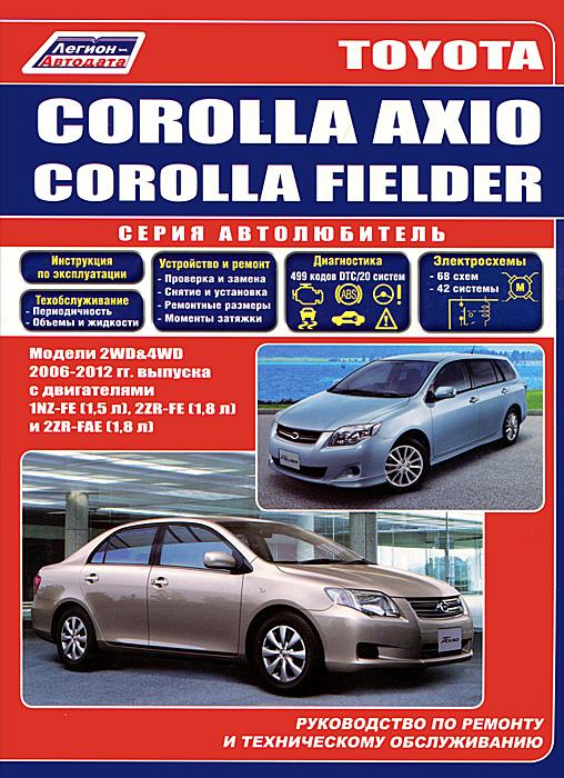 Toyota Corolla Axio и Toyota Corolla Fielder 2006-2012 г.в. Руководство по ремонту, эксплуатации и техническому обслуживанию plus striped skinny pants