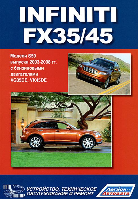 Infiniti FX35 / 45. Модели S50 выпуска с 2003 г. с бензиновыми двигателями. Руководство по эксплуатации, устройство, техническое обслуживание и ремонт мазда рх8 2003 г