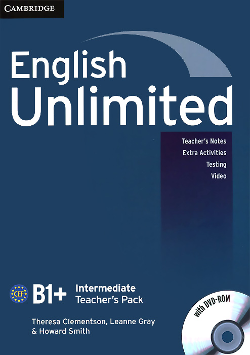 English Unlimited: Intermediate B1+: Teacher's Pack (+ DVD-ROM) total english pre intermediate students book dvd rom