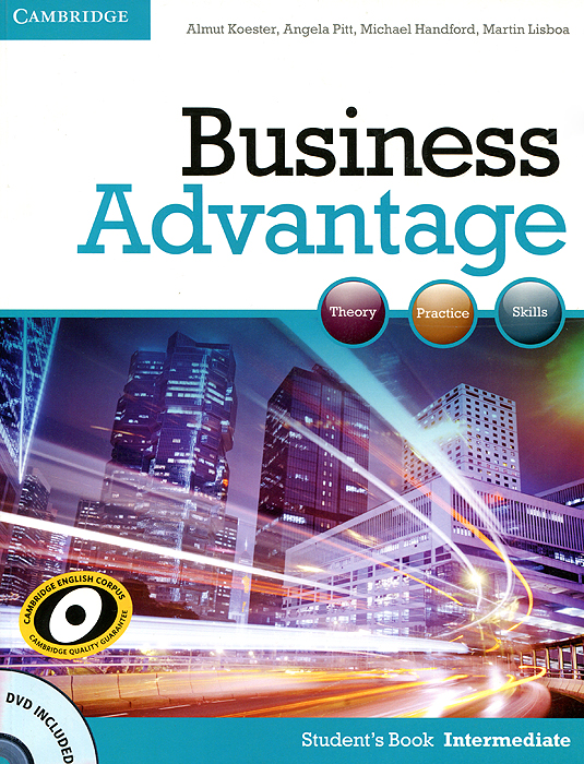 Business Advantage: Intermediate: Student's Book (+ DVD-ROM) business result skills for business studies комплект из 2 книг dvd rom
