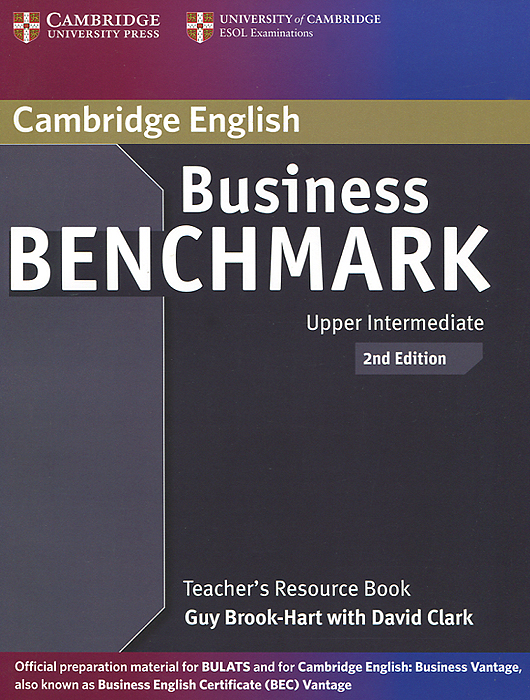 Business Benchmark: Upper Intermediate: Teacher's Resource Book