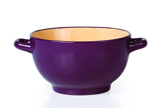 Бульонница Shenzhen Xin Tianli, цвет: фиолетовый, 580 млTLSDX-4Бульонница Shenzhen Xin Tianli, изготовленная извысококачественной глазурованной керамики, оснащена двумяручками для удобной переноски.Такая стильная бульонница украсит сервировку вашего стола.