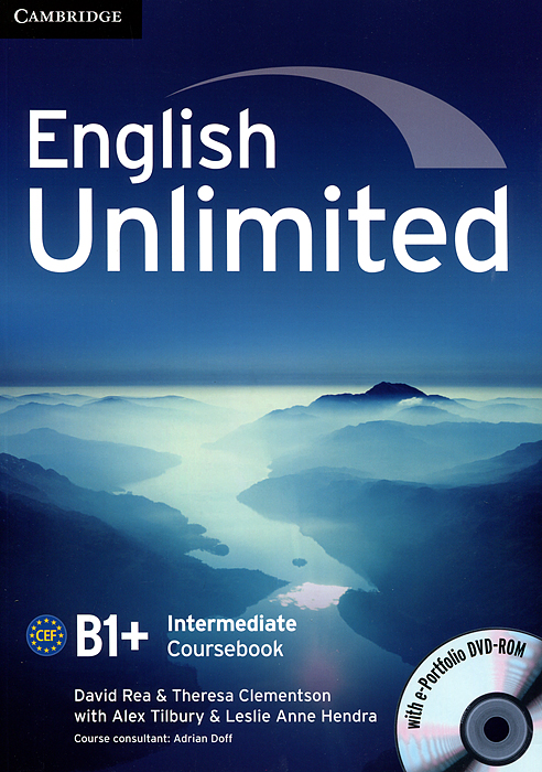 English Unlimited Intermediate Coursebook with e-Portfolio binmer mechanical keyboard motospeed inflictor ck104 original unlimited with switch backlight anti ghosting for computer 17oct9