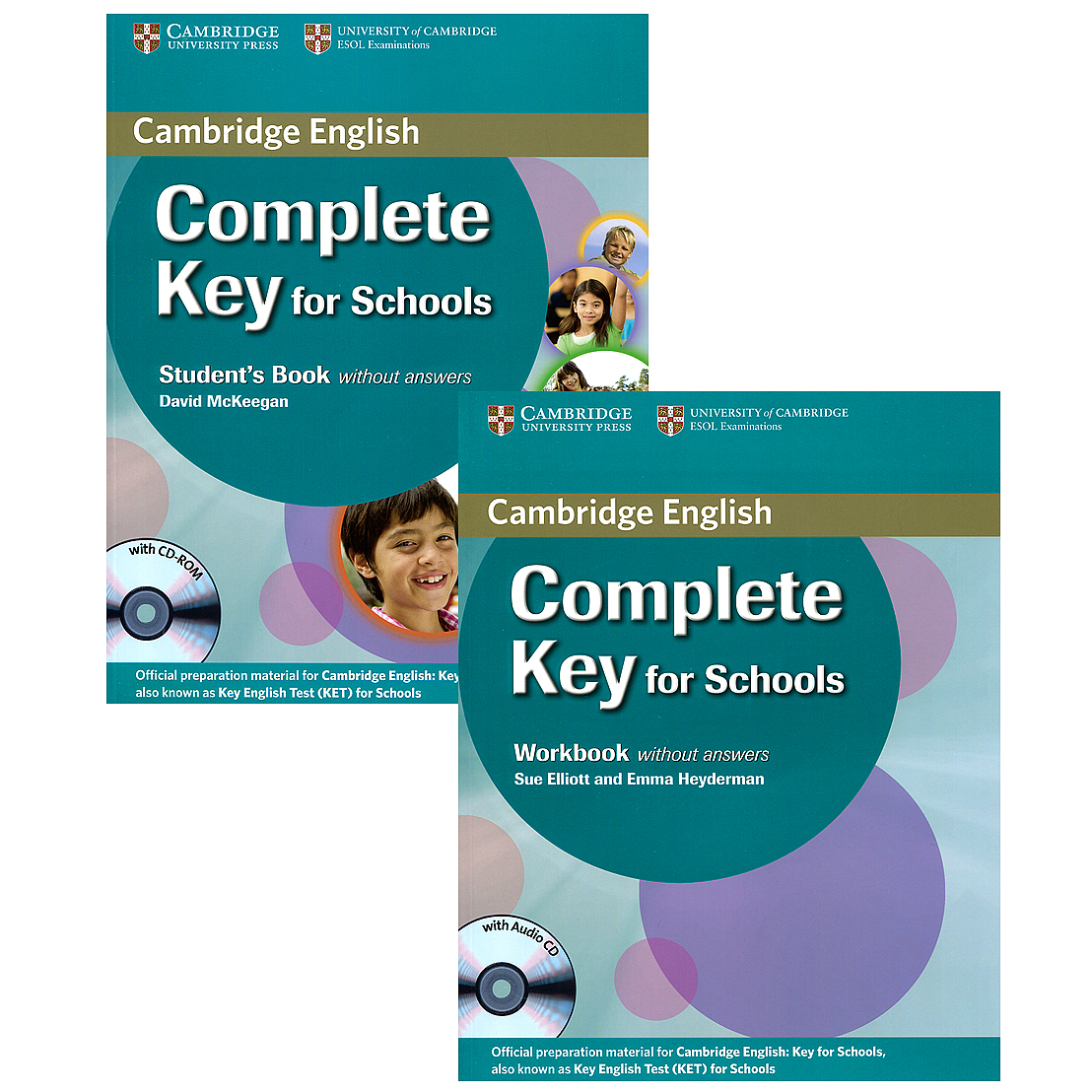 Complete Key for Schools (комплект из 2 книг + 2 CD) патология кожи комплект из 2 книг