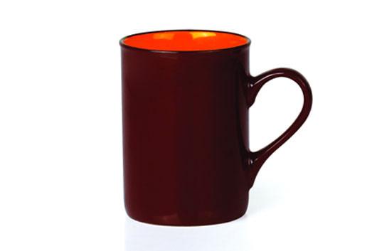 Кружка Shenzhen Xin Tianli, цвет: коричневый, оранжевый, 310 млTLSO-7Кружка выполнена из высококачественной керамики и имеет спокойный классический дизайн. Это изделие экологически безопасно. Кружка станет замечательным сувениром к любому случаю.