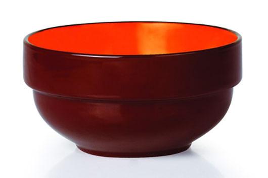 Салатник Shenzhen Xin Tianli, цвет: коричневый, 550 мл. TLSP-7