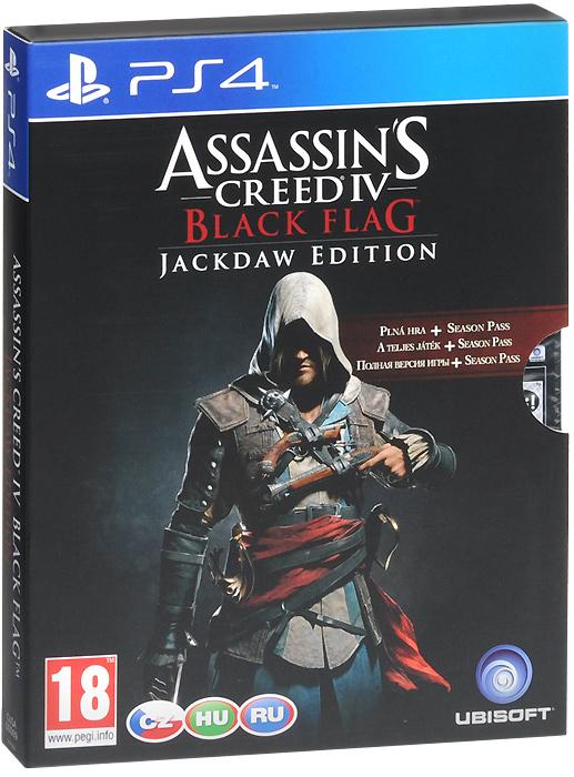 Assassin's Creed 4: Черный флаг. Jackdaw Edition (PS4), Ubisoft Entertainment