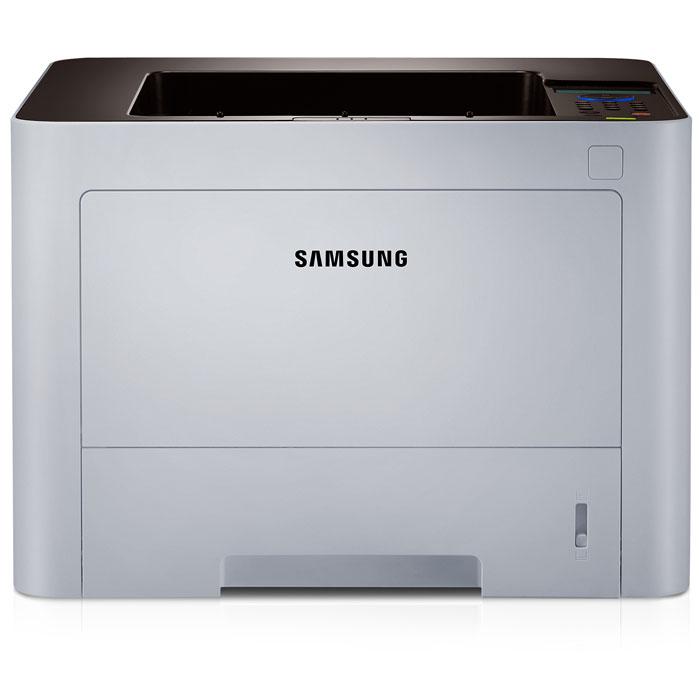 Samsung SL-M3820ND лазерный принтерSL-M3820ND/XEVНадежный принтер Samsung SL-M3820ND оснащен быстрым процессором Cortex A5 и рабочей памятью, расширяемой до 256 MБ, отличаются высокой скоростью печати (до 40 стр. в минуту). Такая высокая скорость печати и надежность позволяют ускорить процесс документооборота и обработку изображений, что обеспечивает повышение эффективности бизнеса.Технология ReCP обеспечивает улучшение читабельности отпечатанных документов благодаря повышению четкости передачи тонких линий и увеличению контурной резкости элементов текста. Принтер Samsung SL-M3820ND позволит получать четкие отпечатки и сканированные изображения с выходным разрешением до 1200 x 1200 dpi.Многофункциональный лоток принтера поддерживает носители плотностью до 220 г/м2, что обеспечивает возможность широкого выбора носителей для печати профессиональных документов. Многофункциональный лоток легко поддерживает прием различных наклеек, карточек и конвертов. Этот лоток позволяет загружать в него одновременно много носителей, а не печатать, подавая в принтер по одному листу, карточке или конверту.Кнопка One-Touch Eco Button позволит сократить ваши расходы на бумагу и тонер. Кнопка One Touch Eco Button автоматически активирует режим печати 2 страниц на одной строне листа, а также двустороннюю печать документов. Пользователь при необходимости может выбрать опцию пропуска печати пустых страниц в режиме экономии тонера (Toner Saving Mode). Все эти экономные опции печати можно выбрать с помощью программы Easy Printer Manager.