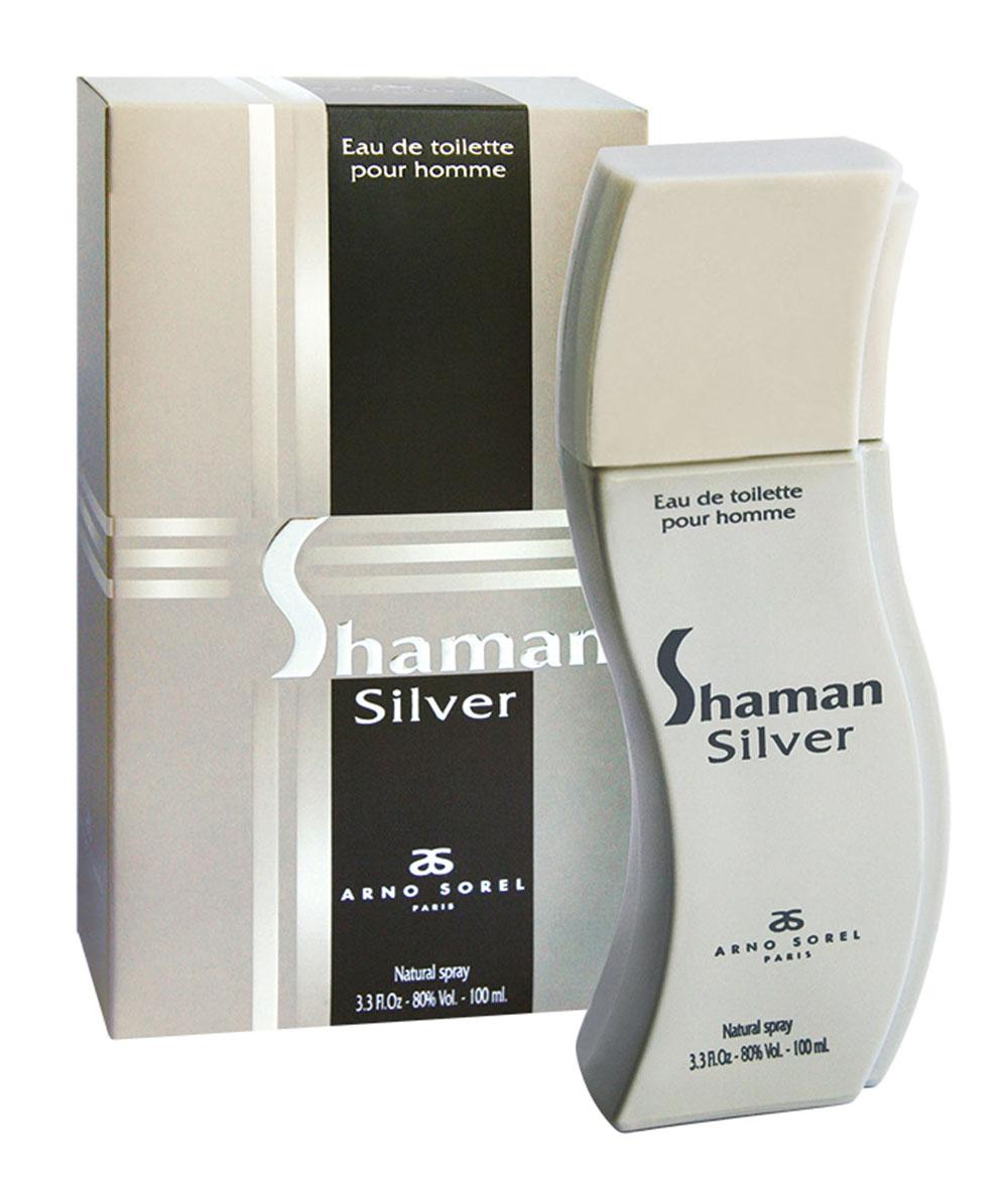 Corania Туалетная вода Shaman Silver, мужская, 100 мл42415Пряный аромат Shaman Silver от Arno Sorel подойдет для ежедневного применения, для уверенного в себе мужчины. Основные ноты: бергамот, черная смородина, гвоздика, перец, пачули, кедр, ветивер, ваниль, амбра, мускус. Ключевые слова Мужественный, таинственный!Туалетная вода - один из самых популярных видов парфюмерной продукции. Туалетная вода содержит 4-10%парфюмерного экстракта. Главные достоинства данного типа продукции заключаются в доступной цене, разнообразии форматов (как правило, 30, 50, 75, 100 мл), удобстве использования (чаще всего - спрей). Идеальна для дневного использования. Товар сертифицирован.