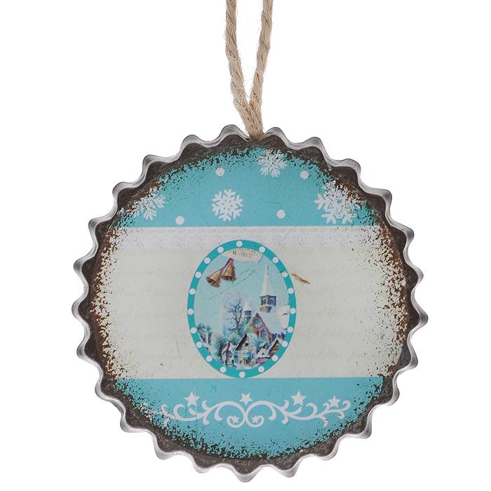 Новогоднее подвесное украшение Феникс-Презент Снежный дом. 35290 феникс презент