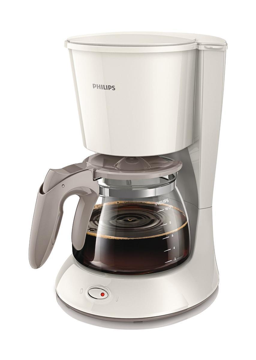 Philips HD7447/00 капельная кофеваркаHD7447/00Наслаждайтесь отличным кофе благодаря надежной кофеварке Philips HD7447/00 со стильным дизайном и компактной конструкцией, которая обеспечивает удобство хранения. Инновационный индикатор уровня водыЧтобы вам было удобно следить за объемом воды в резервуаре, компания Philips разработала инновационный индикатор. Система капля-стоп Система капля-стоп позволяет в любой момент прервать приготовление и налить в чашку ароматный кофе.Удобство очистки Для удобной очистки все детали этой кофеварки Philips можно мыть в посудомоечной машине. Выключатель с LED-подсветкойГорящая подсветка указывает, что кофеварка Philips включена. Объем 1,2 л на 10-15 чашекКувшин кофеварки рассчитан на 1,2 л кофе, то есть на 10-15 чашек (в зависимости от размера чашки).
