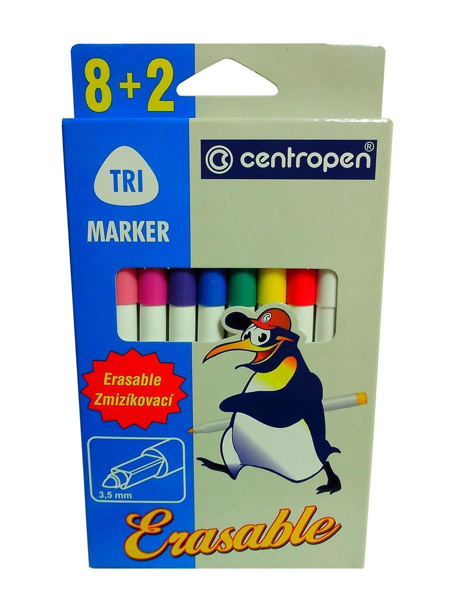 Набор Erasable: 8 фломастеров, 2 поглотителя чернил2569/10 От производителяНаборErasable, включающий 8 разноцветных фломастеров и 2 поглотителя чернил - отличное решение для начинающего художника, ведь неверные штрихи и линии теперь легко стереть.Фломастеры имеют эргономичное место для руки. Наполнены специальными чернилами, которые можно обесцветить, обведя надпись стирающим фломастером.Фломастеры прошли санитарно-эпидемиологическую оценку и являются безопасными при использовании по назначению. Характеристики:Длина фломастера: 15,5 см. Толщина стержня:0,35 см.Размер упаковки:10,5 см x 18,5 см x 1,2 см.