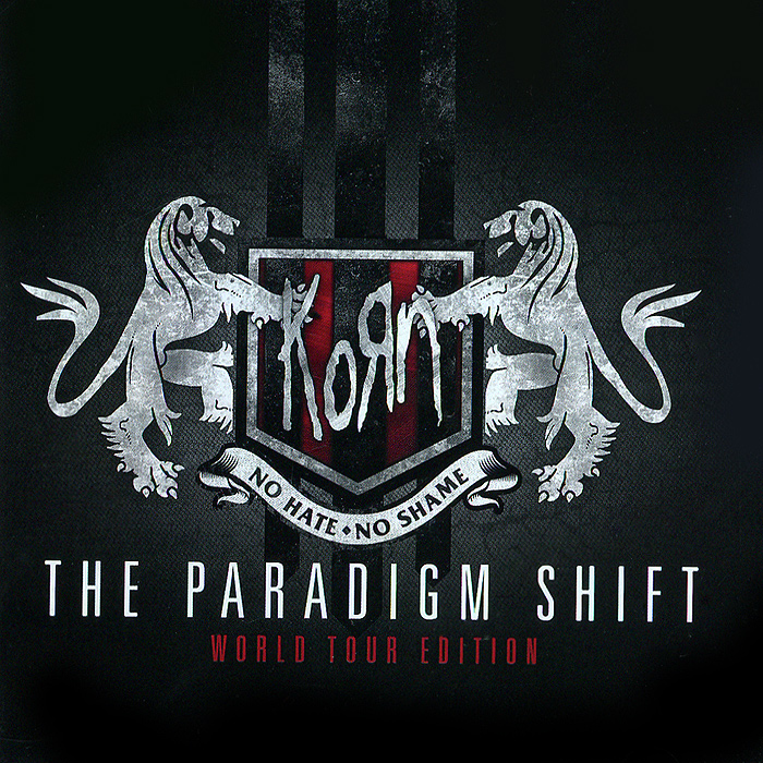 Korn Korn. The Paradigm Shift. World Tour Edition (2 CD) ветом 4 порошок 500г
