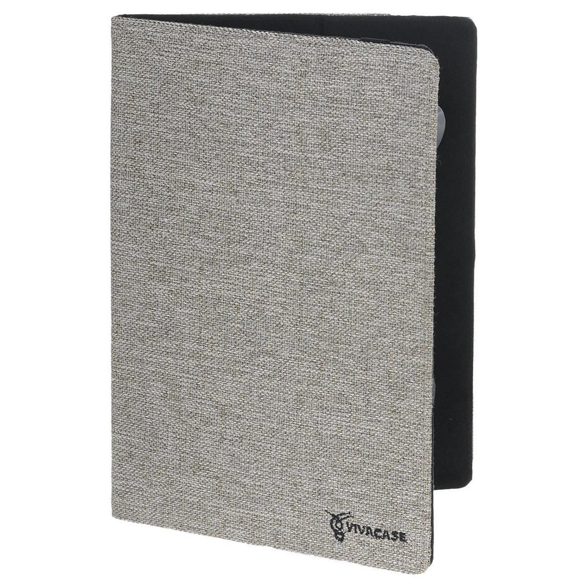Vivacase Jacquard универсальный чехол-обложка для планшетов 10, Gray (VUC-CJ010-gr) чехлы для планшетов 10 дюймов украина