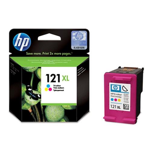 HP CC644HE (121XL) трехцветный струйный картридж hp c6578a 78 трехцветный струйный картридж