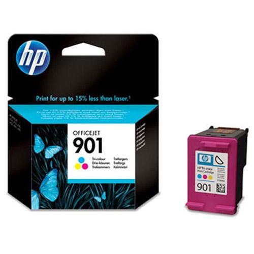 HP CC656AE (901) трехцветный струйный картридж для OfficeJet 4500/J4580/J4660CC656AEДоступная печать цветных документов высокого качества с 3-цветными картриджами HP 901 Officejet и чернилами HP Officejet при более низкой стоимости в сравнении с лазерными принтерами. Надежная печать качественной цветной графики и четких фотографий с отличной проработкой деталей.