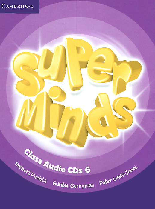 Super Minds: Level 6: Class CDs (аудиокурс на 4 CD) super safari level 2 class audio cds 2