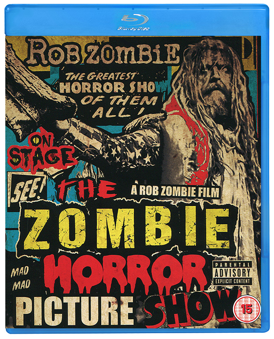 The Zombie Horror Picture Show (Blu-ray) the house of the dead