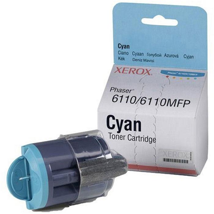 Xerox 106R01206, Cyan тонер-картридж для Phaser 6110/6110MFP106R01206Тонер-картридж Xerox для Phaser 6110/6110MFP.