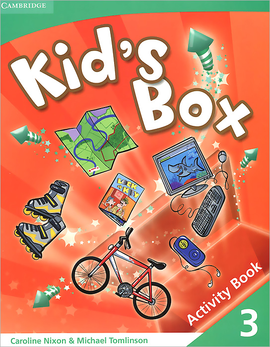 Kid's Box 3 Activity Book english with crosswords 3 dvdrom