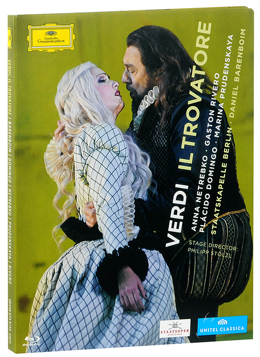 Verdi: Il trovatore (Blu-ray) the berlin concert domingo netrebko villazon blu ray