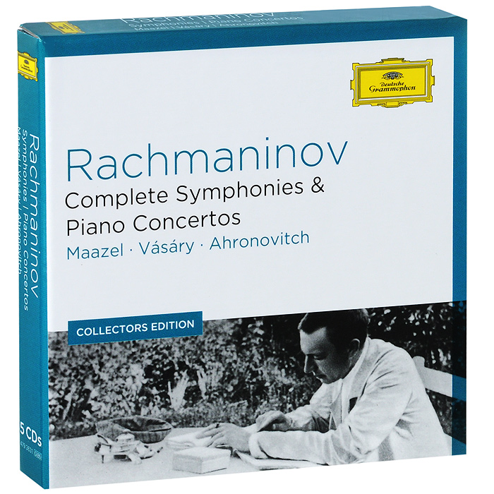 Berliner Philharmoniker,Лорин Маазель,Тамаш Вашари,The London Symphony Orchestra,Юрий Ахронович Maazel, Vasary, Ahronovitch. Rachmaninov. Complete Symphonies & Piano Concertos (5 CD) андрэ превен the london symphony orchestra раду лупу andre previn schumann grieg piano concertos lp