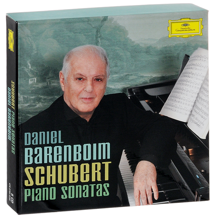 Дэниэл Баренбойм Daniel Barenboim. Schubert. Piano Sonatas (5 CD) piano sonatas cd