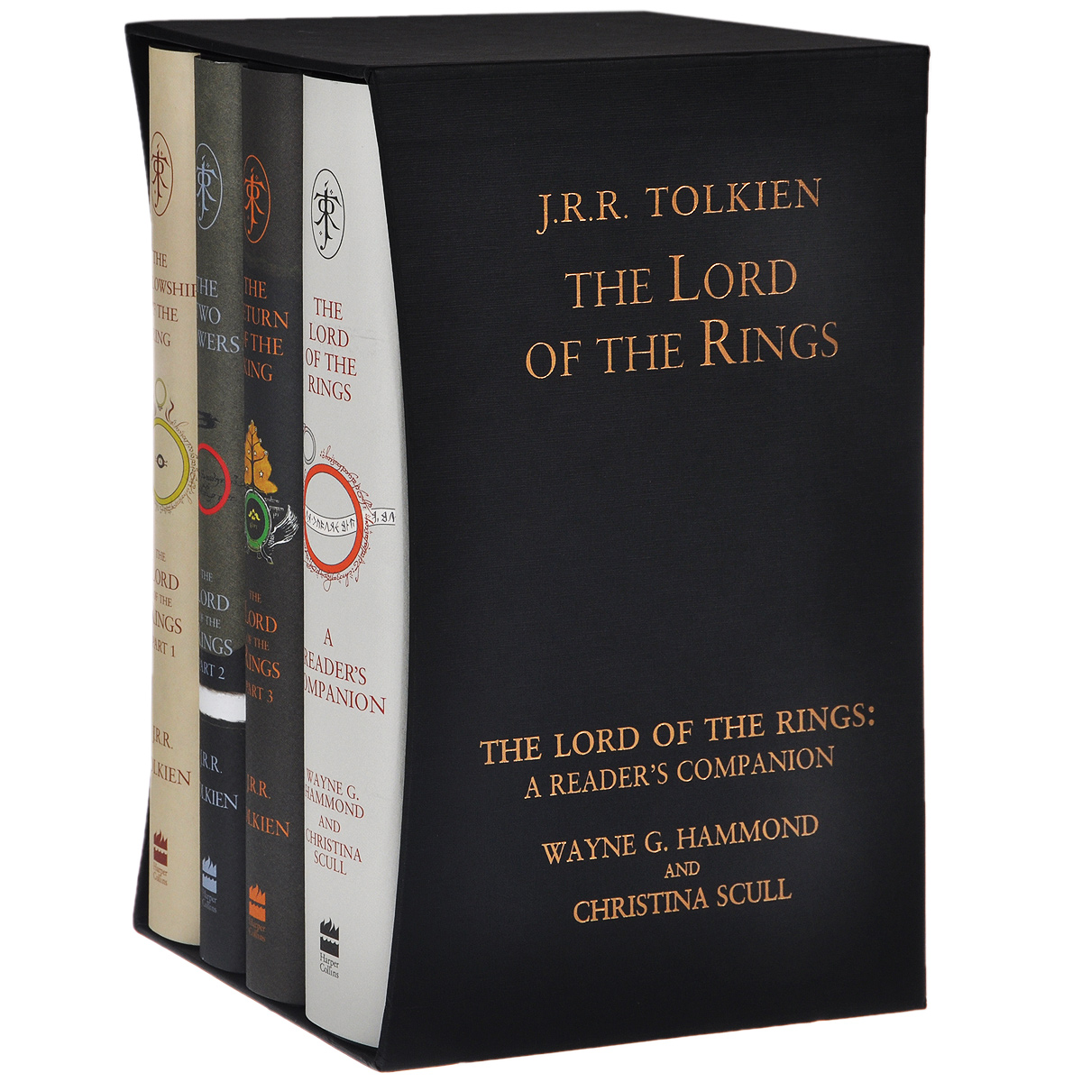 The Lord of the Rings (комплект из 4 книг) гобелен 180х145 printio the lord of the rings lotr властелин колец