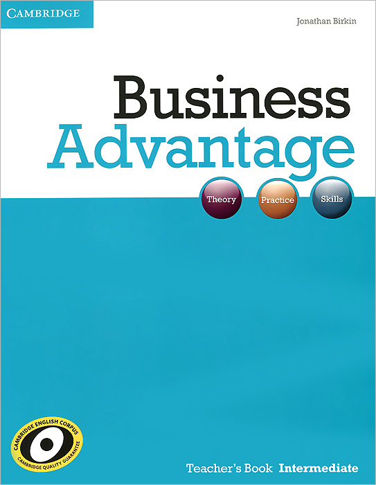 Business Advantage Intermediate Teacher's Book brook hart g clark d business benchmark 2nd edition upper intermediate bulats and business vantage teacher s resource book