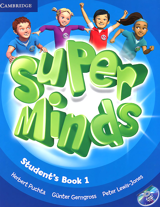 Super Minds: Level 1: Student's Book (+ DVD-ROM) super minds level 6 workbook with online resources