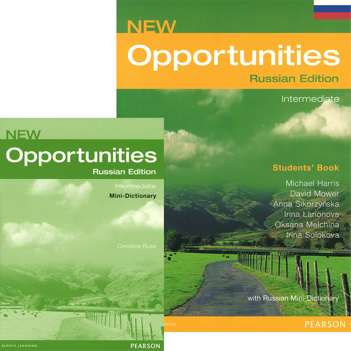New Opportunities: Intermediate: Students' Book (комплект из 2 книг) cobuild intermediate learner's dictionary