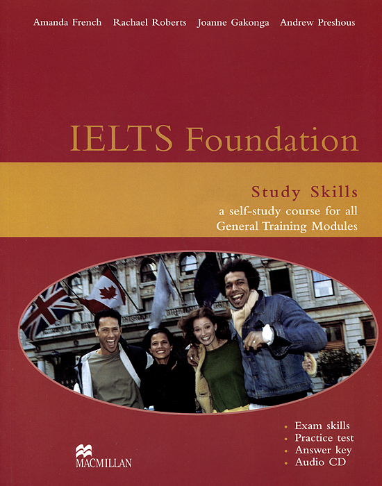 IELTS Foundation: Study Skills (+ CD-ROM) mccarter s hunt l roberts r ready for ielts teaher s book