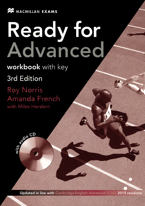 Ready for Advanced: Workbook with Key (+ CD) laser a2 workbook with key cd