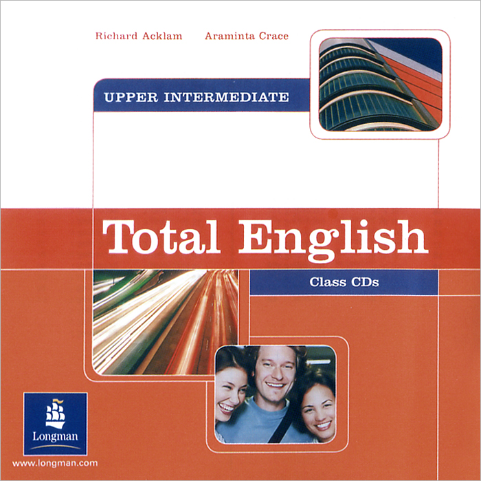 Total English: Upper-Intermediate: Class CDs (аудиокурс на 2 CD) foley mark total english upper interm 2nd wb key audio cd