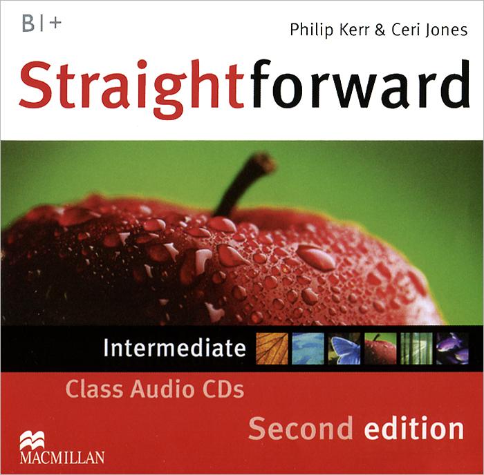 Straightforward B1+: Intermediate (аудиокурс на 2 CD) powell m in company intermediate 2nd edition students book with cd rom cef liver b1 b2
