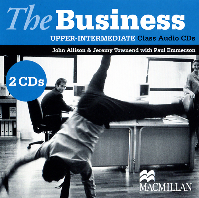 The Business: Upper-Intermediate (аудиокурс на 2 CD) cutting edge upper intermediate active teach аудиокурс на cd rom