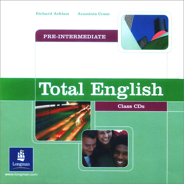 Total English: Pre-Intermediate: Class CDs (аудиокурс на 2 CD) total english pre intermediate students book dvd rom