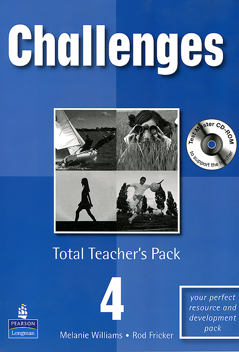 Challenges 4: Total Teacher's Pack (+ CD-ROM) встраиваемая акустика sonance cinema lcr1