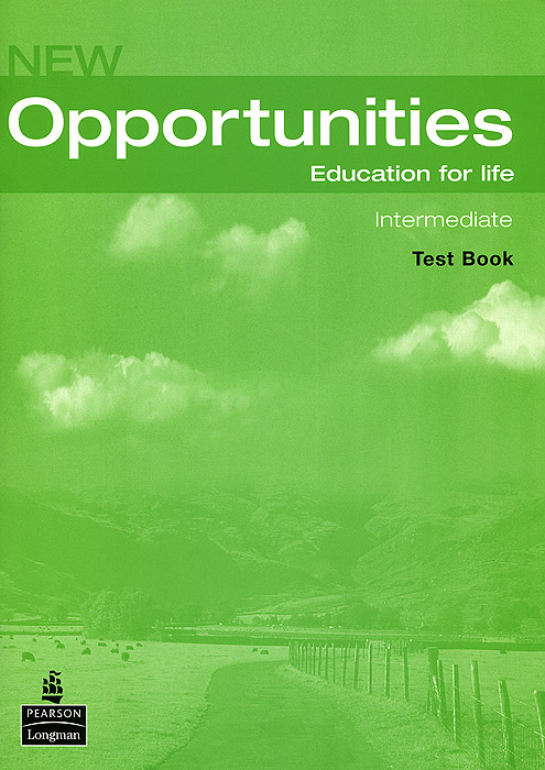 New Opportunities: Intermediate: Test Book (+ CD) new opportunities russian edition elementary test book