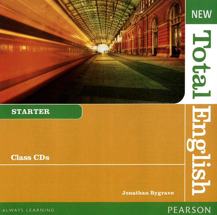 New Total English: Starter: Class CDs (аудиокурс на 2 CD) new headway beginner class audio cd аудиокурс cd