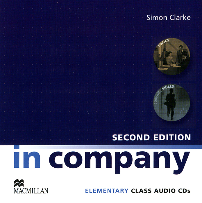 In Company: Elementary Class Audio CDs (аудиокурс на 2 CD) in ghostly company