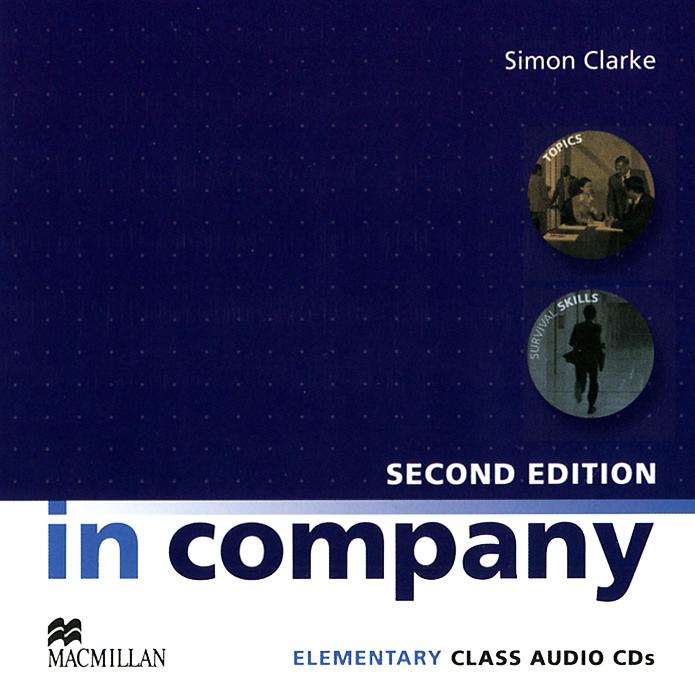 In Company: Elementary Class Audio CDs (аудиокурс на 2 CD) in company 3 0 elementary a2 аудиокурс cd